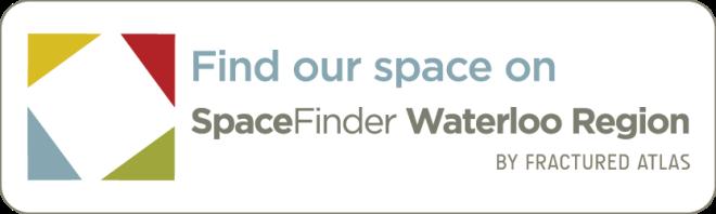 SpaceFinder Waterloo Region Button