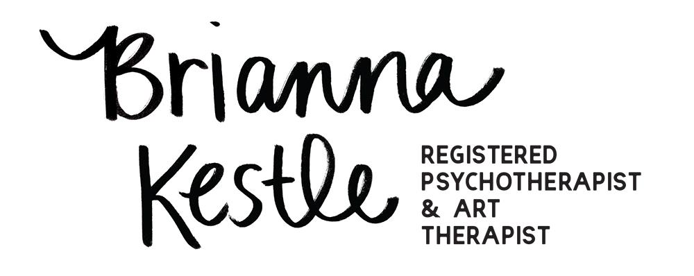 Brianna Kestle Logo Registered Psychotherapist & Art Therapist