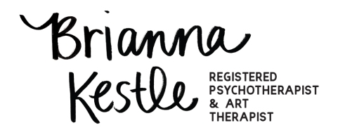 Brianna Kestle Logo Registered Psychotherapist & Art Therapist