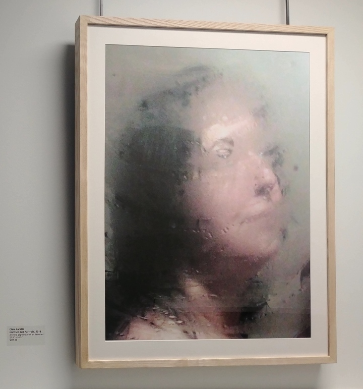 Untitled Self Portrait, 2018 Clara Laratta