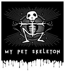 My Pet Skeleton Logo