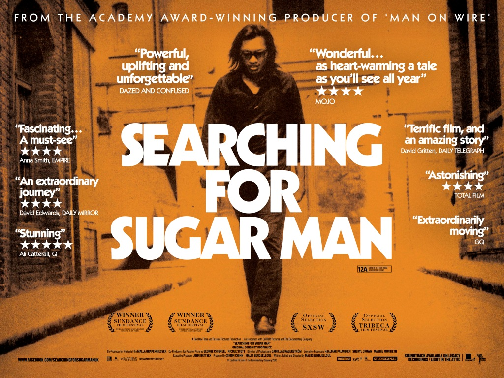 Searching For Sugarman Sixto Rodriguez documentary poster
