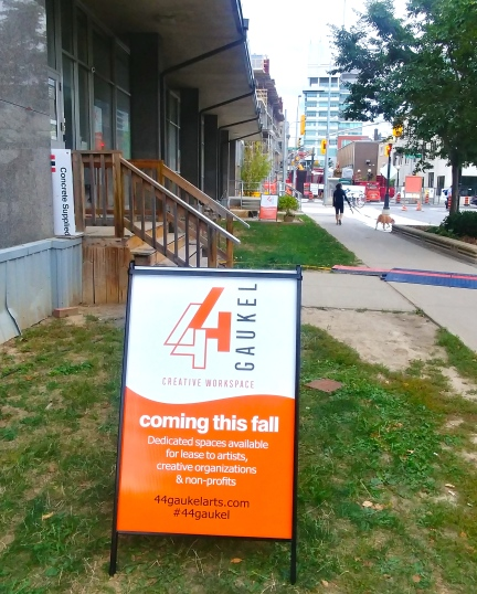 44 Gaukel Sign Creative Workspaces coming this fall