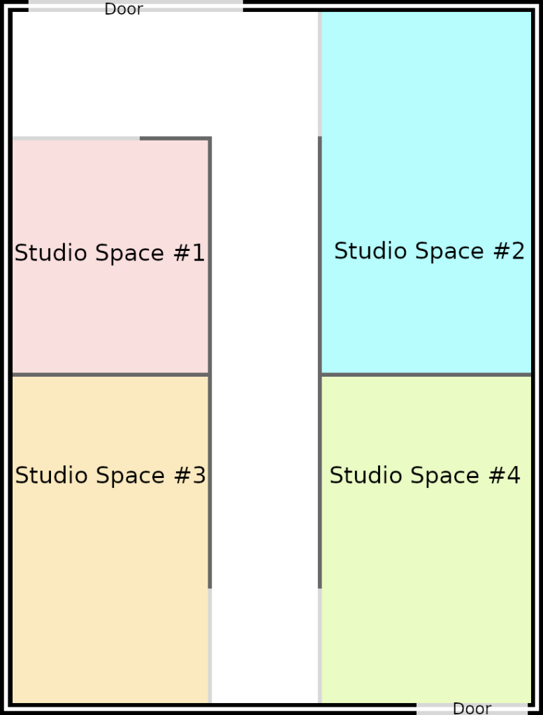 Layout of the Studio Space